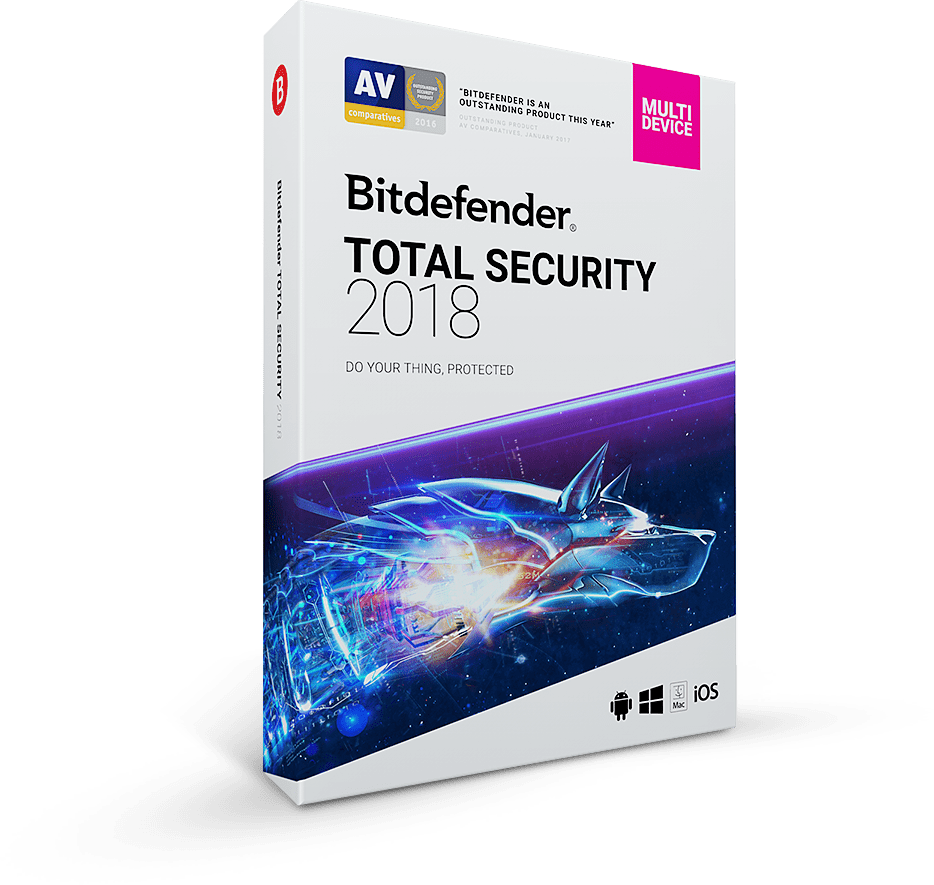 Bitdefender Total Security 2018 kostenlos