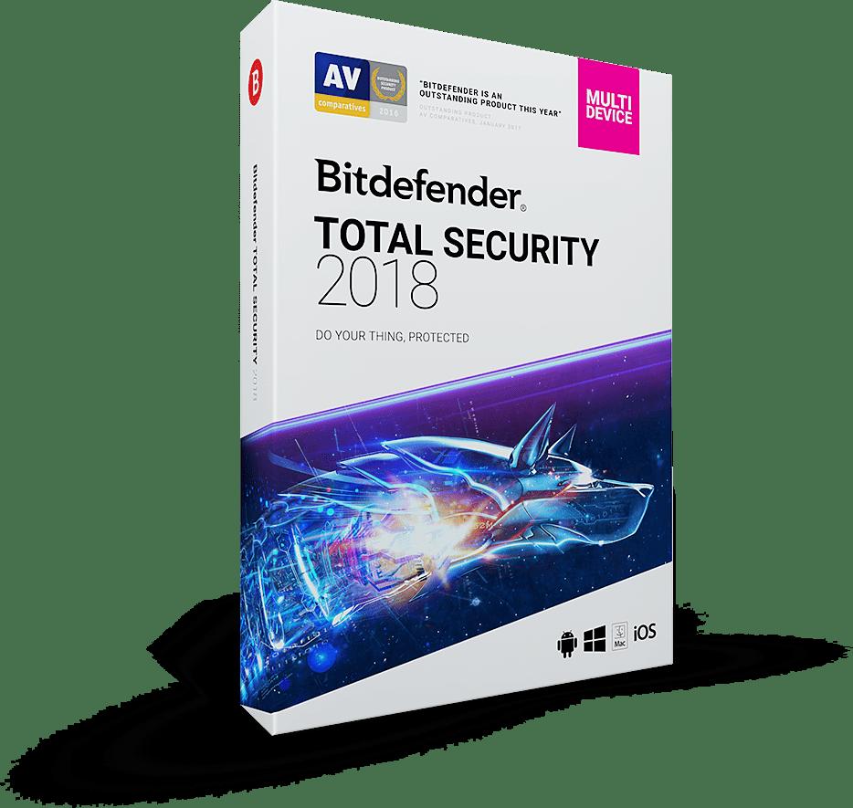 Bitdefender Total Security 2018 kostenlos