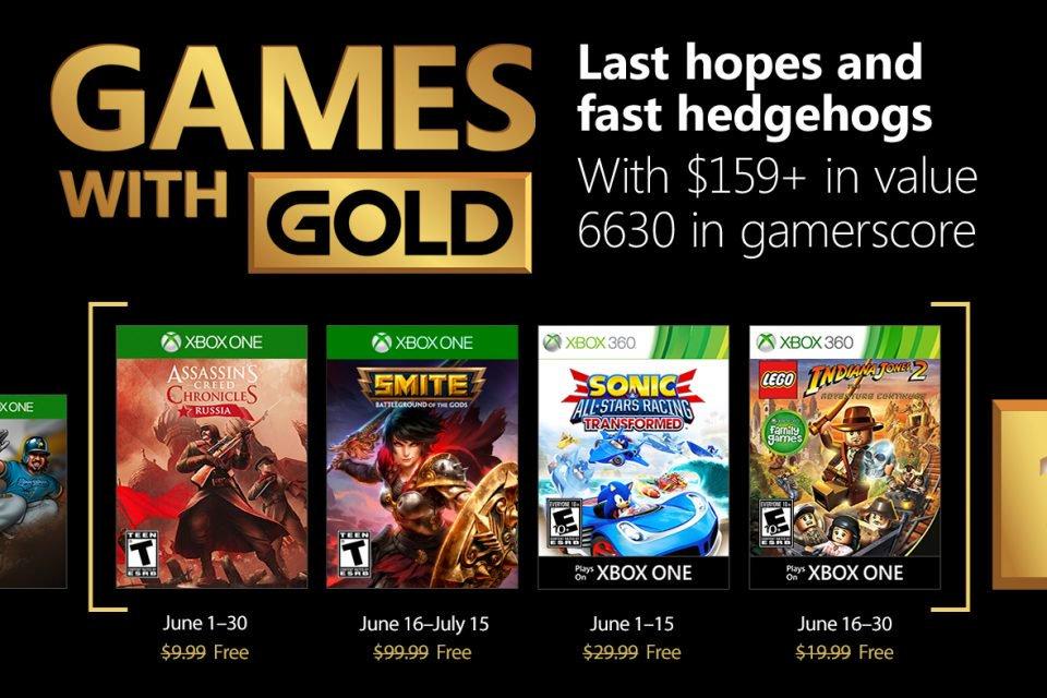 Kostenlose Spiele innerhalb der Xbox Live-Mitgliedschaft Juni 2018