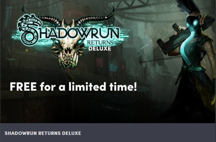 Shadowrun Returns Deluxe (Windows/Mac/Linux) kostenlos