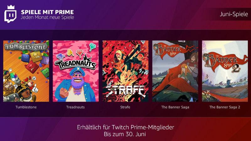 Spiele mit Prime - jeden Monate kostenlose Spiele