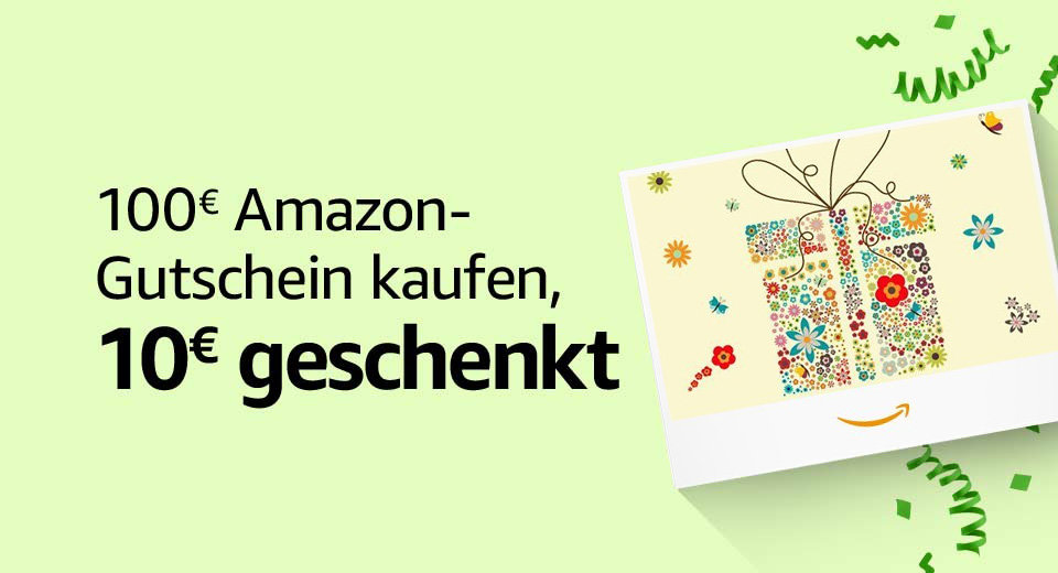 Prime Day 2020 - 10 € Amazon-Gutschein