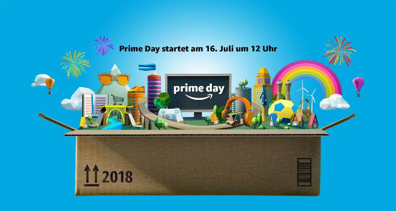 Prime Day 2018 - 16. Juli - Angebote starten schon früher