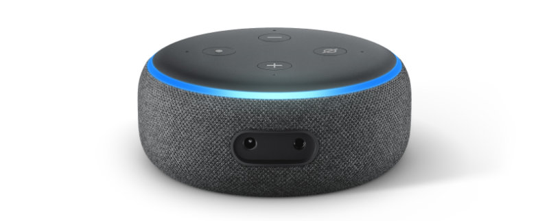 Echo Dot - 3. Generation - neues Design besserer Sound