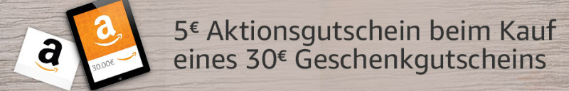 5 Euro Amazon Gutschein November 2018