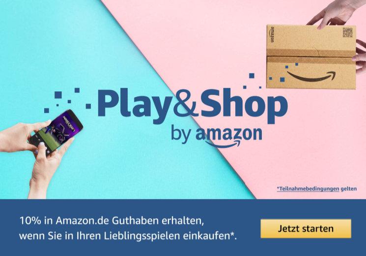 10% Amazon-Guthaben zurück beim Kauf von Apps und Spielen im Amazon Appstore