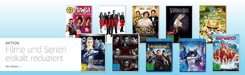 Eiskalt reduziert - Filme und Serien auf DVD und Blu-ray