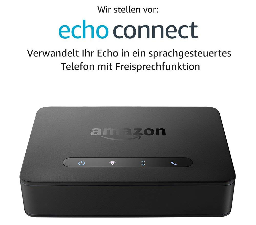 Echo Connect - Freisprecheinrichtung für Zuhause - freihändig telefonieren - Notruf ohne Telefon