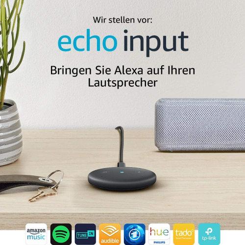 Amazon Alexa nachrüsten - Echo Input für vorhandene Lautsprecher