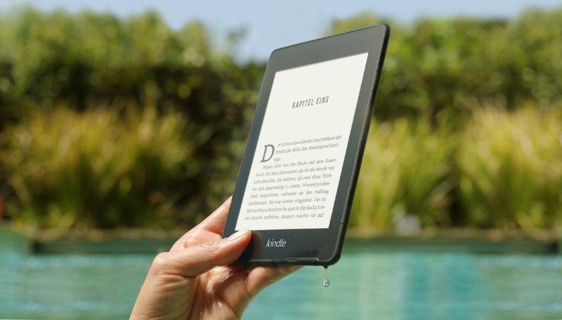 Kindle Paperwhite 2018 - der neuste eReader aus dem Hause Amazon