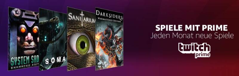Spiele mit Prime - jeden Monate kostenlose Spiele - Oktober 2018
