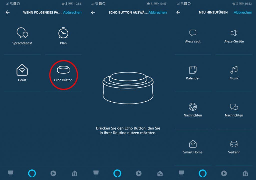 Echo Buttons als Smart Home Schalter nutzen