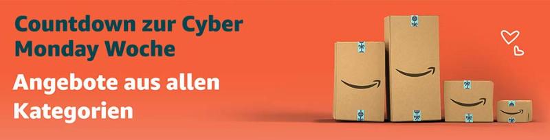 Countdown zur Cyber Monday Woche 2018 - Schnäppchen und Deals