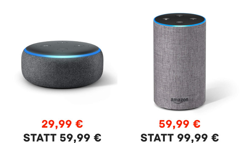 Amazon Echo Dot 3 unter 30 Euro