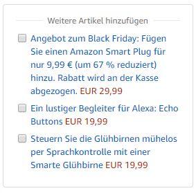Amazon Echo Dot 3.Gen mit Smart Home Steckdose für unter 40 Euro