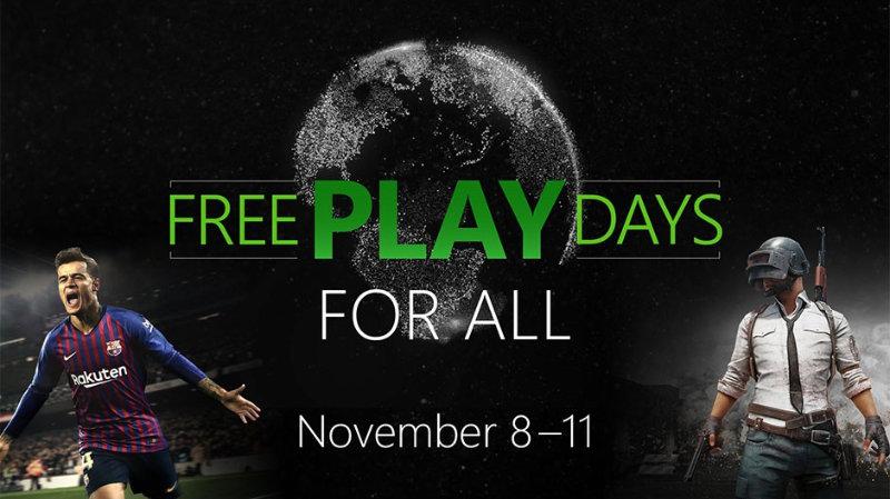 Free Play Days für Alle - Xbox Live kostenlos nutzen ohne bezahlte Mitgliedschaft Multiplayer