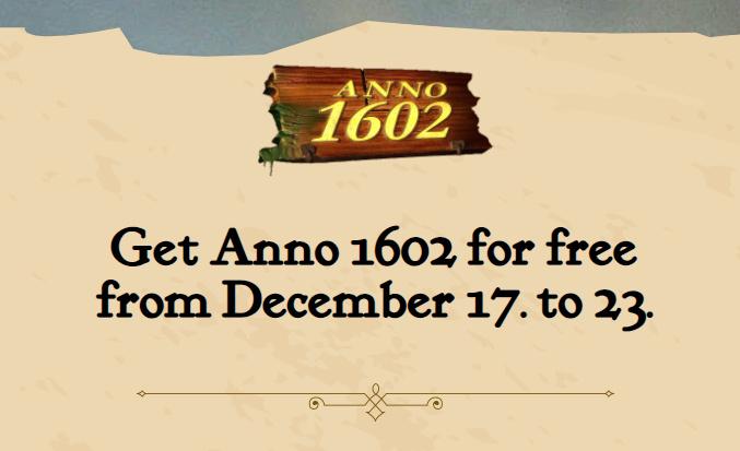 UPlay - Anno 1602 gratis herunterladen und spielen - Vollversion