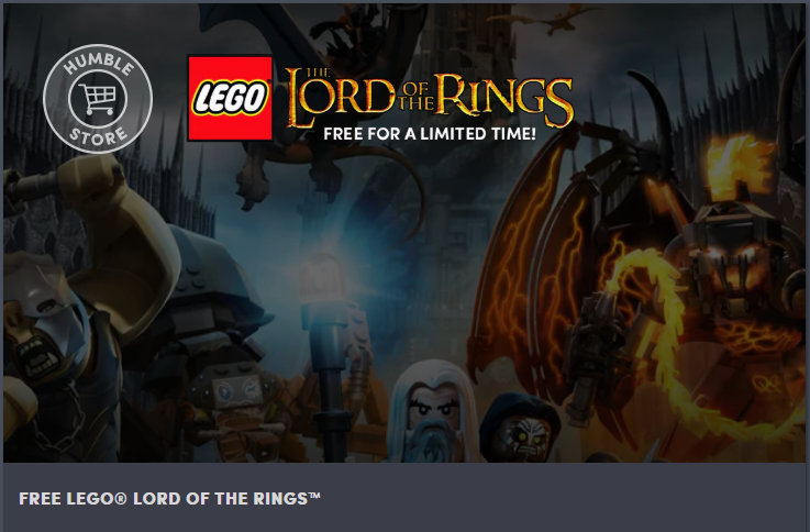 Kostenlose Spiele im Humble Store - LEGO Der Herr der Ringe / The Lord of the Rings