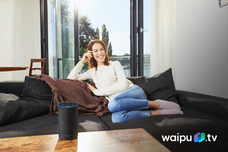 waipu.tv auf dem Fire TV mit Sprache steuern