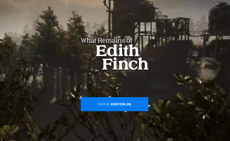 What Remains of Edith Finch kostenlos im Epic Games Store