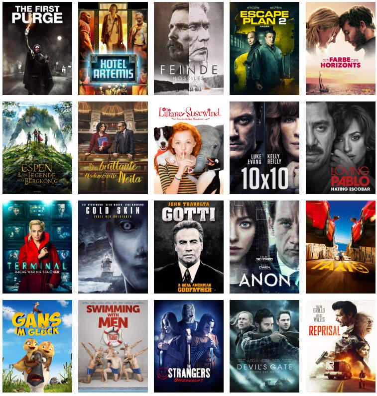 Freitag Filme Abend jetzt Teil der Prime Deals - 20 Filme für je 99 Cent