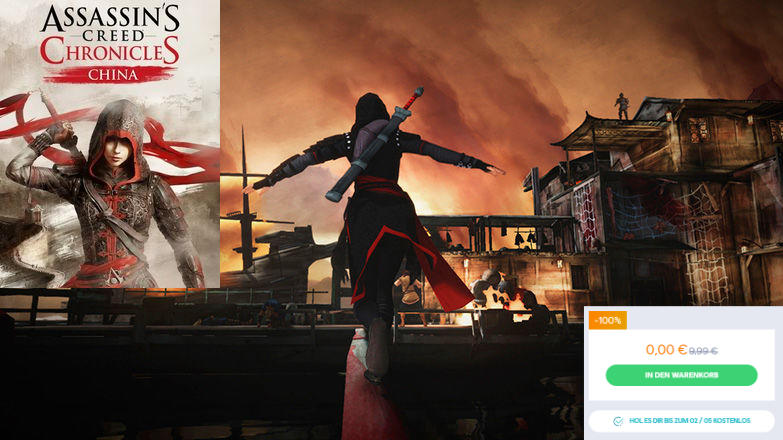 UPlay - Assassin's Creed Chronicles China gratis - Vollversion