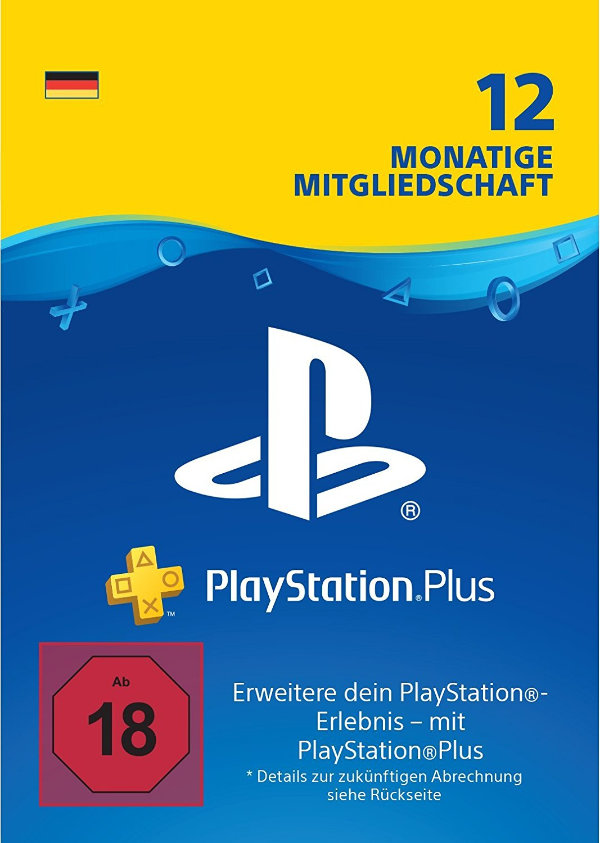 12 Monate PlayStation Plus günstiger
