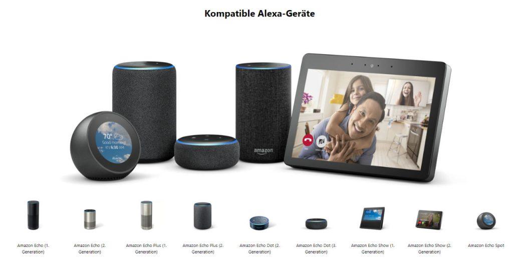 Skype über Amazon Echo und Echo Show / Spot nutzen