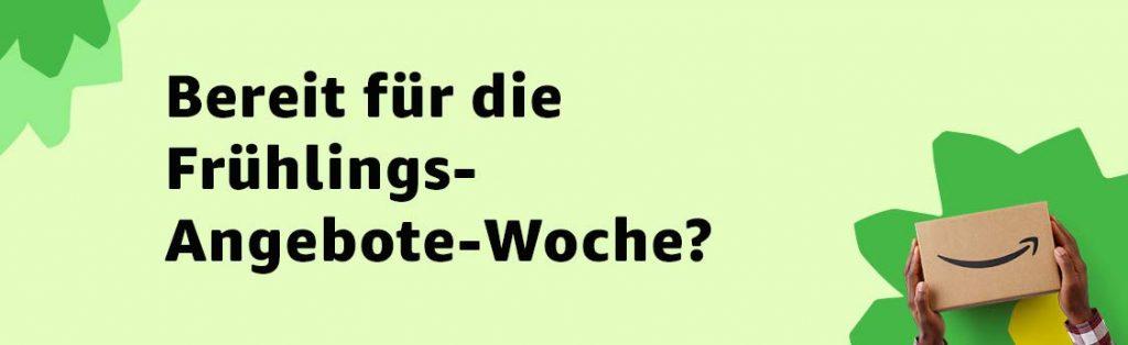 Erste Countdown-Angebote Frühlings-Angebote-Woche bei amazon.de