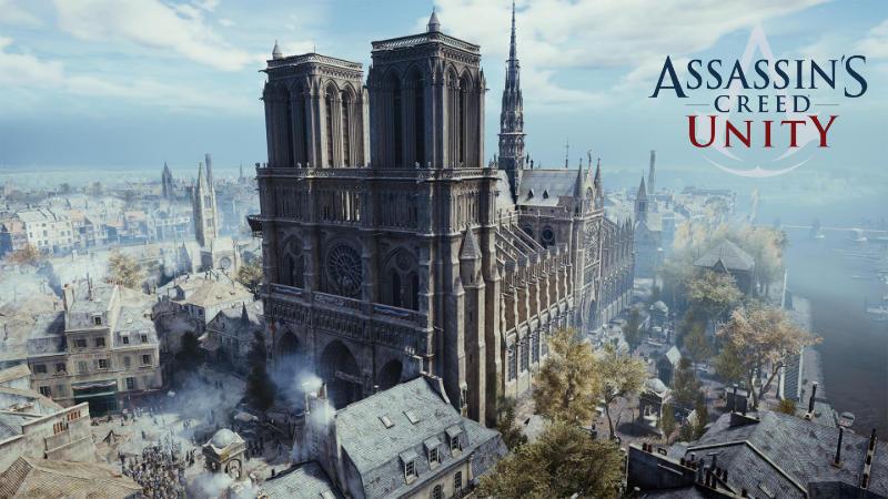 Ubisoft verschenkt Asassins Creed Unity - Notre-Dame Paris