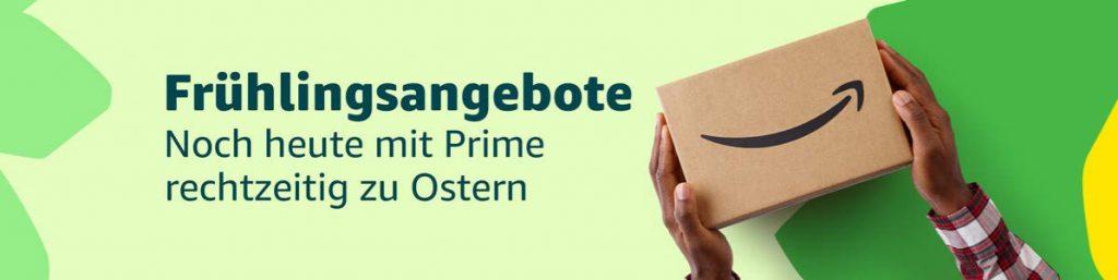 Frühlings-Angebote-Woche 2019 verlängert bis Ostern bei amazon.de
