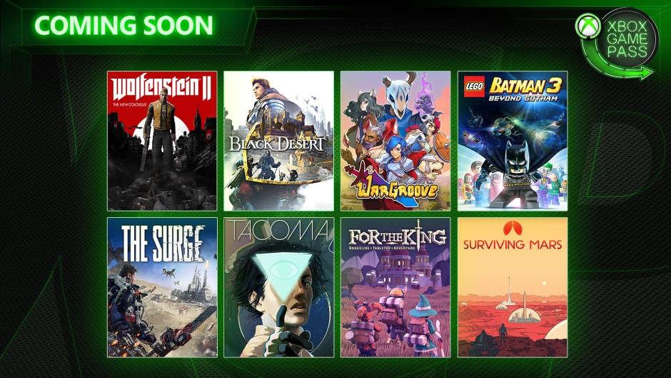 Xbox Game Pass - Neuzugänge im Monat Mai 2019