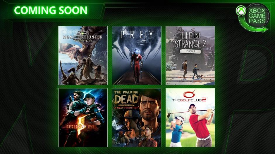 Xbox Game Pass - Neue Spiele im April 2019