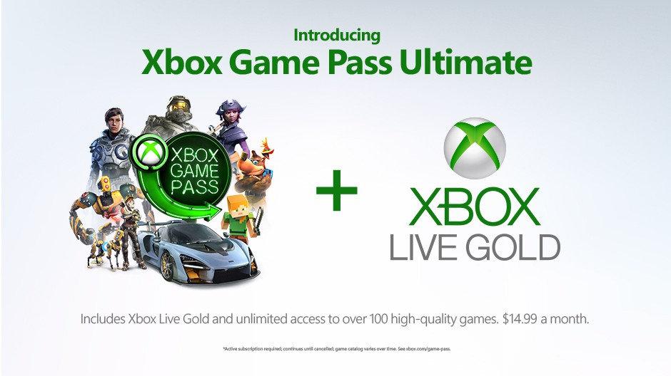 Xbox Game Pass Ultimate - Game Pass und Xbox Live in einer Mitgliedschaft
