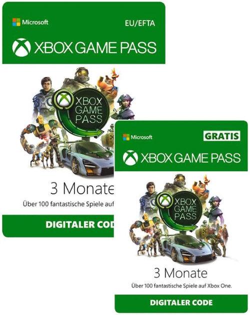 Xbox Game Pass günstiger - 3+3 Monate = 6 Monate zum halben Preis