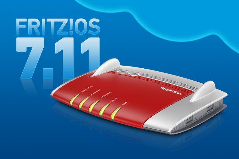 FRITZ!OS 7.11 Update für FRITZ!Box 7490 steht bereit - Download