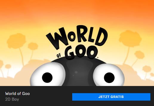 World of Goo - Epic Store - PC-Spiel kostenlos / gratis