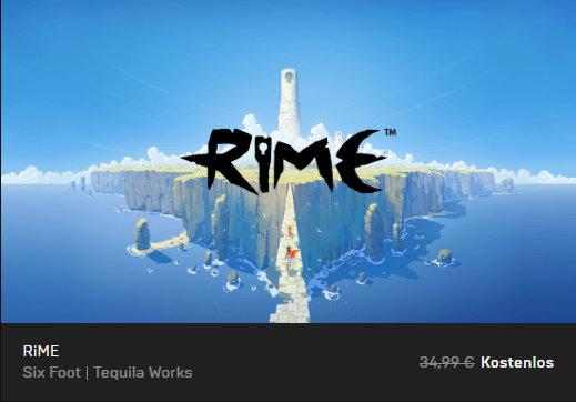 RiME - Epic Store - PC-Spiel kostenlos / gratis