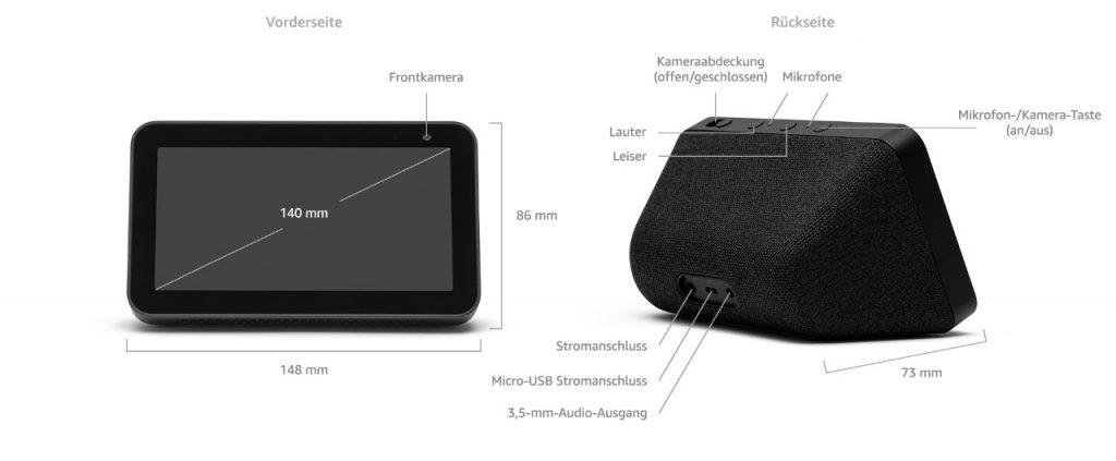 Amazon Echo Show 5 - neuer kleinerer und deutlich günstigerer Echo Show