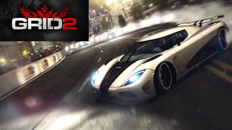 Grid 2 inkl. Demoltion Derby DLC kostenlos- Steam - Games gratis