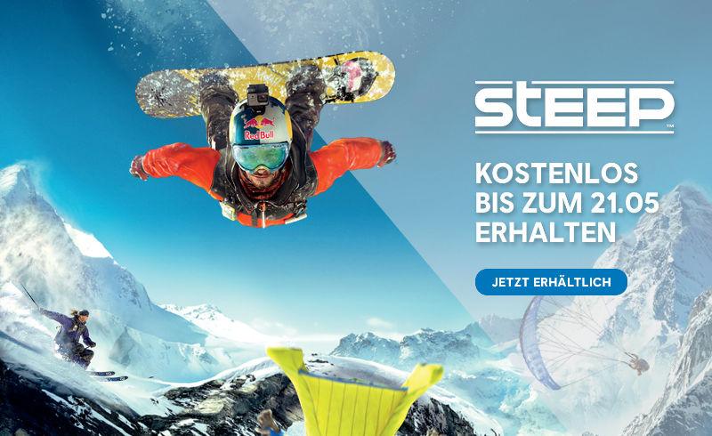 Ubisoft verschenkt Steep - Open World Ski, Snowboard, Wingsuit und Paragliding