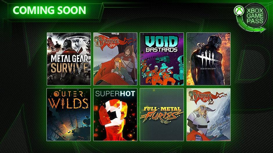 Xbox Game Pass - Neuzugänge im Ende Mai und Juni 2019