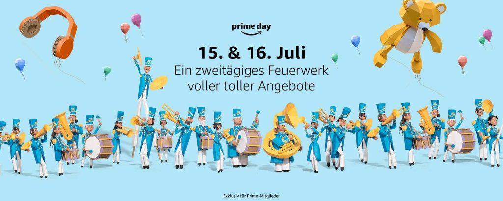 Prime Day 20189 - 15. und 16. Juli