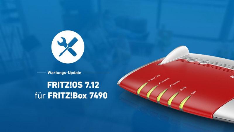 FRITZ!Box 7490 bekommt Update auf FRITZ!OS 7.12 - Probleme mit ISDN, Portfreigaben und dauerhaft blinkender WLAN-LED behoben