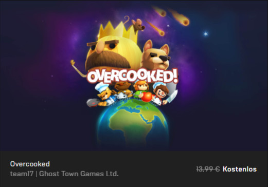 Overcooked! kostenlos - PC Spiel Download - Epic Store Games
