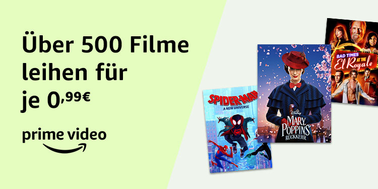 Amazon Video - 500 Filme für 99 Cent - Prime Day 2019