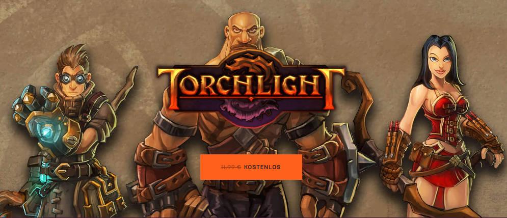 Torchligt - PC-Spiel für kurze Zeit kostenlos herunterladen