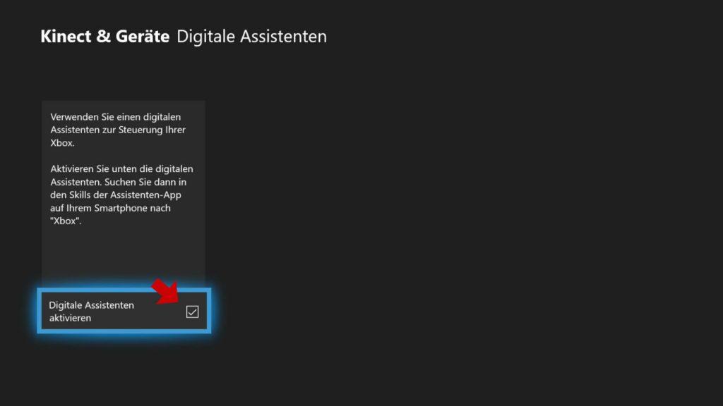 Xbox One - Digitale Assistenten aktivieren und Konsole mit Amazon Alexa verbinden
