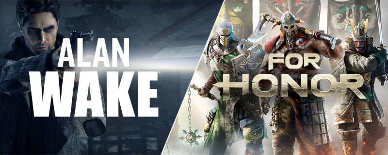 Alan Wake und For Honor - PC-Spiel - Windows/Mac - Computerspiele kostenlos
