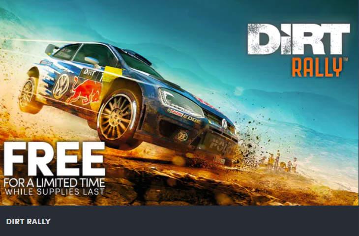 Dirt Rally kostenlos -Humble Store - VR-Spiele gratis